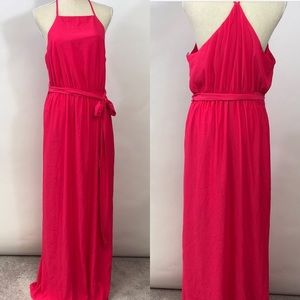 NWT Felicity & Coco Pink Tank Maxi Dress XL